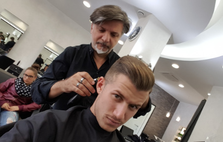 Bottone Barbiere Fiumicino | Taglio Uomo